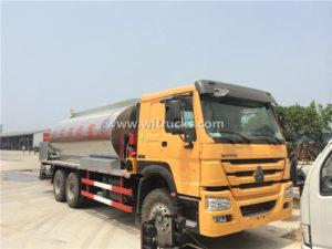 Sinotruk HOWO 18000 Liters Asphalt Distributor Truck