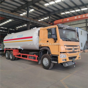 Sinotruk HOWO 25cbm LPG Distribution Truck