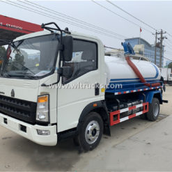 Sinotruk Howo vacuum fecal suction truck