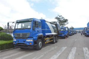 Sinotruk garbage collection truck