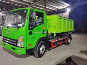 construction waste transfer truck