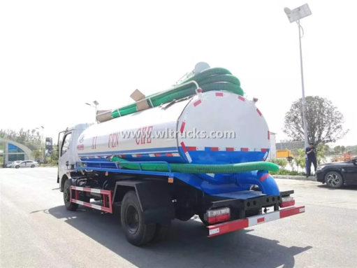 fecal truck