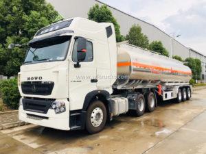 fuel tank truck trailer