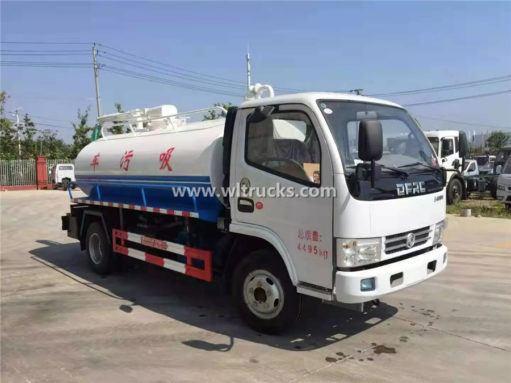 septic suction truck