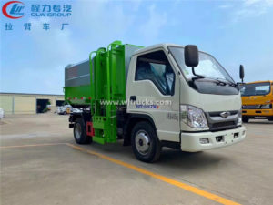 side loading garbage truck