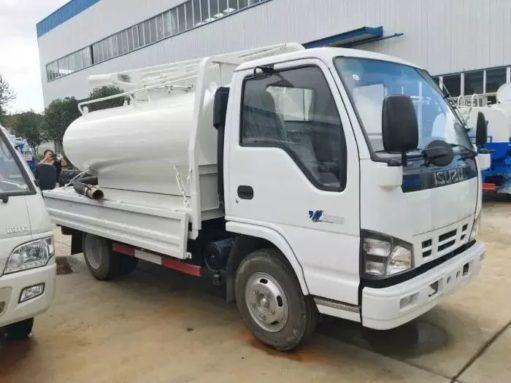 vacuum Fecal truck