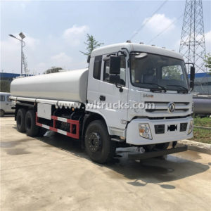 10 wheels Dongfeng 5000 gallon Stainless Steel Material Potable Water Delivery Truck