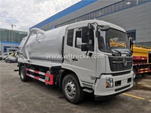 12000L vacuum sewer sewage Truck