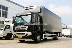 15 ton HOWO Refrigerator Truck