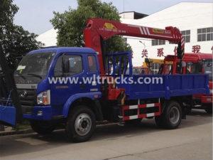 5 ton dump truck mounted crane