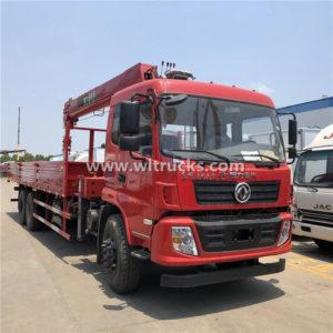 6 wheels 8 ton Telescoping Boom Crane Truck
