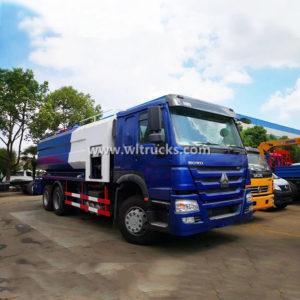 6x4 Sino 20cbm vacuum sewage sucker truck