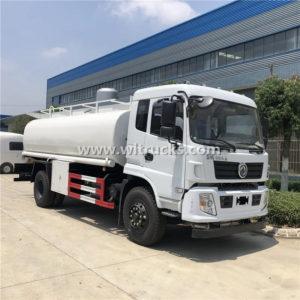 DFAC 4000 gallon Stainless Steel Drink Water Tank Truck