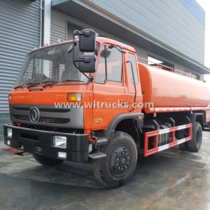 Dongfeng 15000L stainless steel Water Pulling Truck