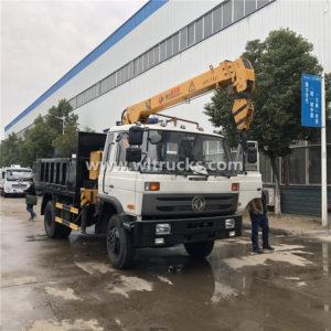 Dongfeng 4X4 Truck Mounted Crane