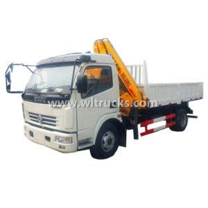 Dongfeng 5 ton Folding Arm Crane Truck
