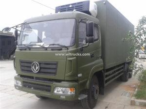 Dongfeng 6X6 15 ton Freezer Van box Truck