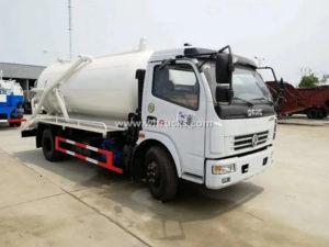 Dongfeng 8cbm Sewage Vacuum Truck