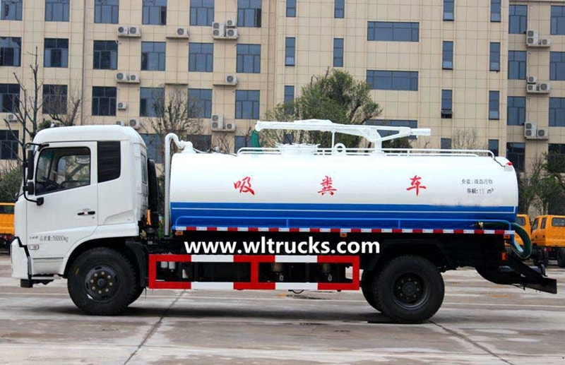 Fecal suction truck pictures