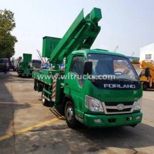 Foton 16m Truck Mounted Aerial Work Platform Truck