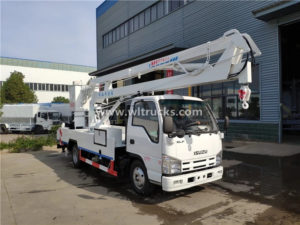 ISUZU 16Meters Aerial Bucket Truck