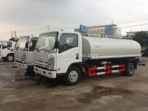 ISUZU 8 ton Water Transport truck