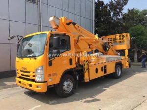 Isuzu 20m Hydraulic Telescopic Aerial Platform Truck