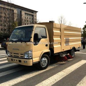 Isuzu 5m3 Vacuum Road Sweeper truck