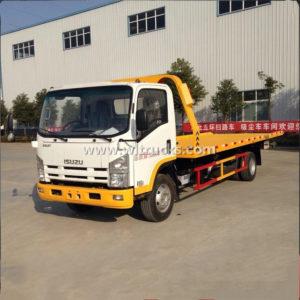 Isuzu 8 ton Flatbed Wrecker Tow Truck