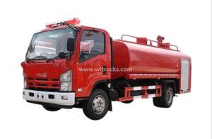 Isuzu Npr 6000L Water Fire Truck
