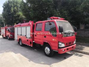Isuzu water Foam Tank Fire Truck