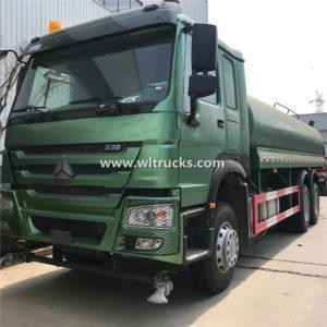 Sinotruk Howo 6000 gallon Water Clean truck