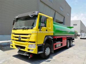 fuel Transport Tanker Truck