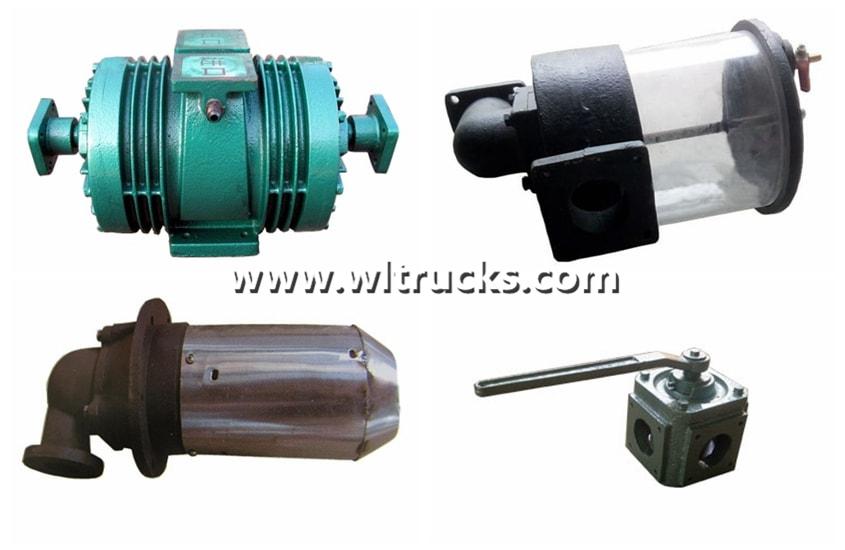 vacuum sewage truck accessories