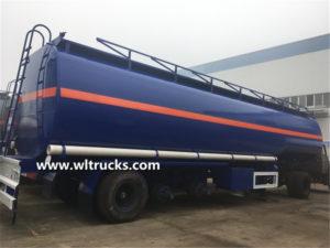 3 axles 50cbm fuel oil bowser tank trailer