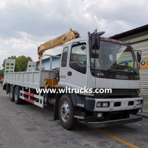 ISUZU 10 ton Straight arm truck crane