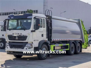 SINOTRUK HOWO 20m3 Waste collection compactor garbage truck