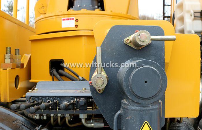 Truck crane hydraulic valve picture