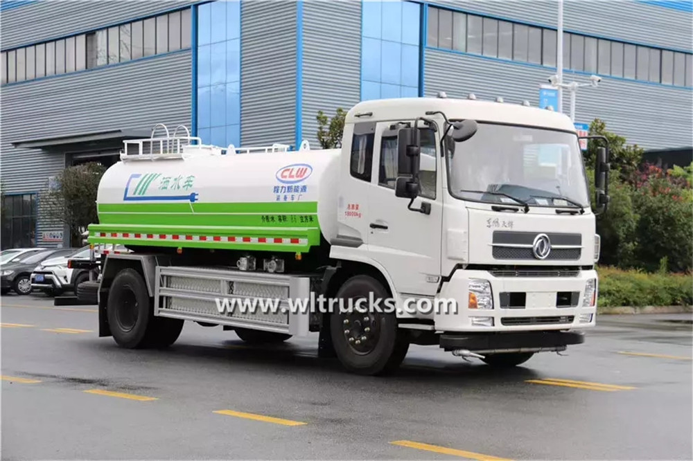 10 ton Electric water sprinkler truck