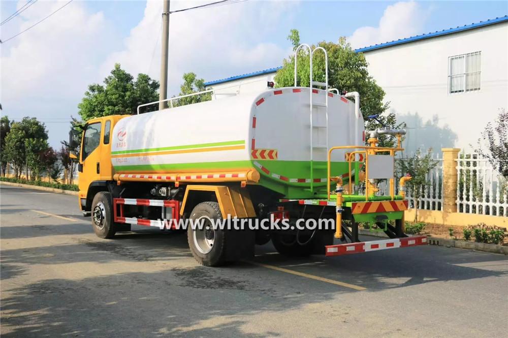 10m3 construction water tank truck