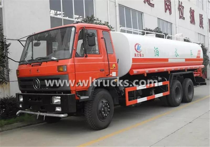 20000 liters water tanker truck