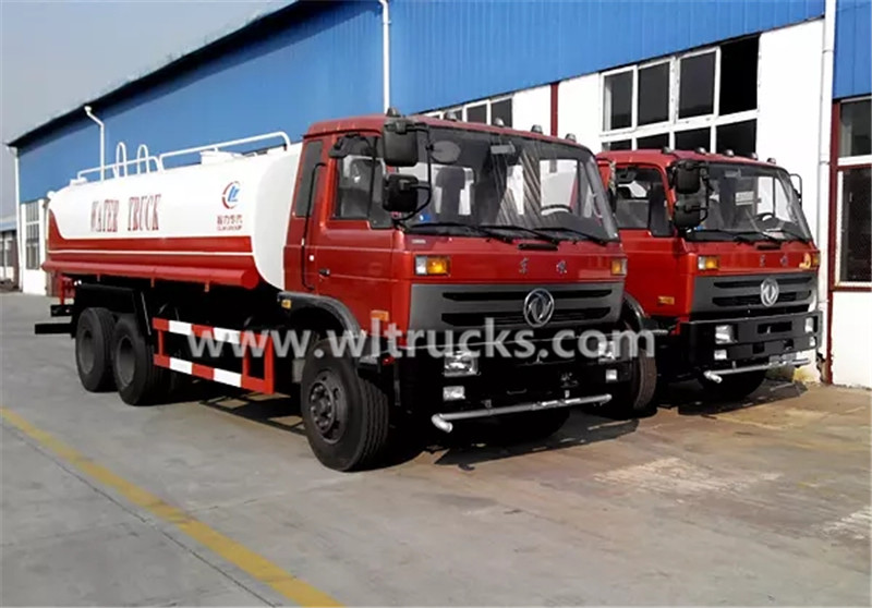 20000liters water bowser truck