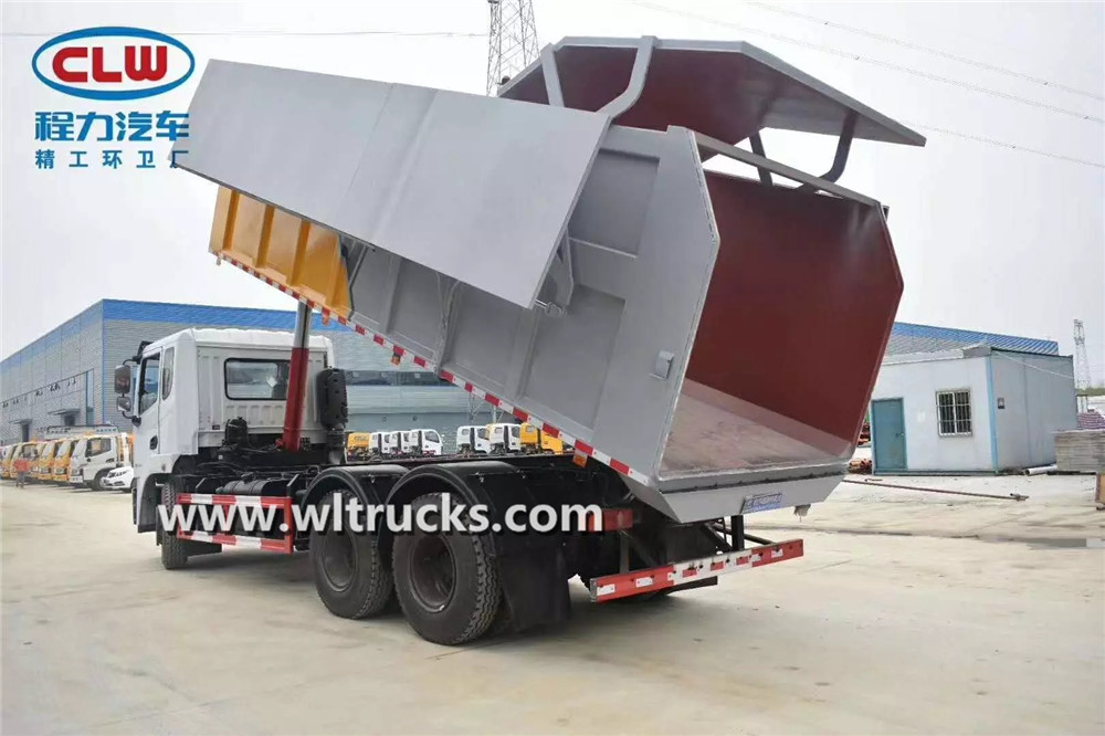 20cbm docking garbage truck