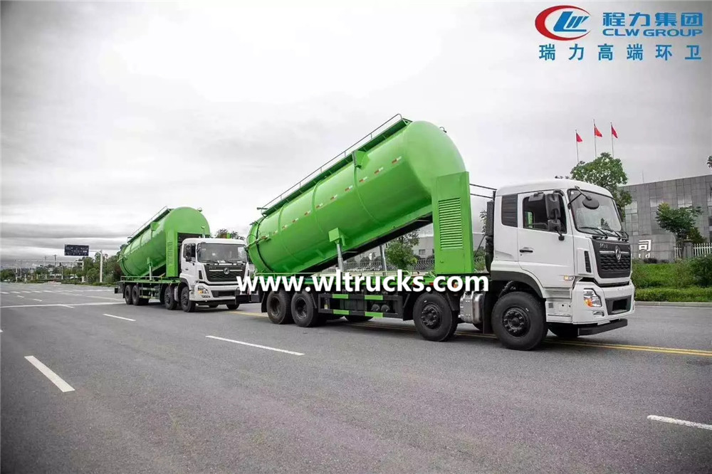 22000 liters sewage suction truck
