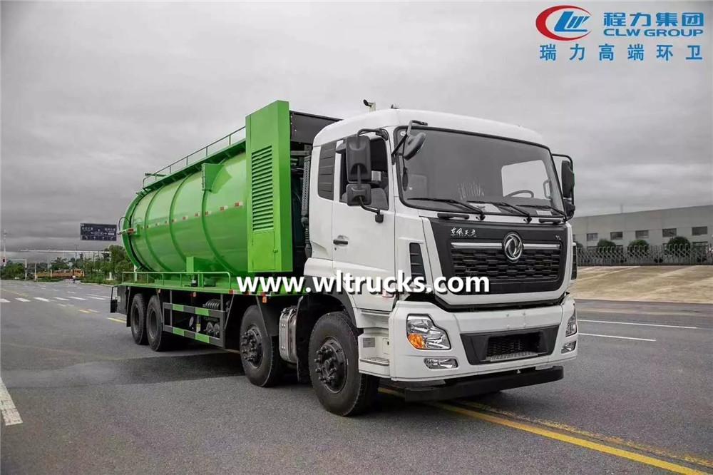 22cbm sewage suction truck
