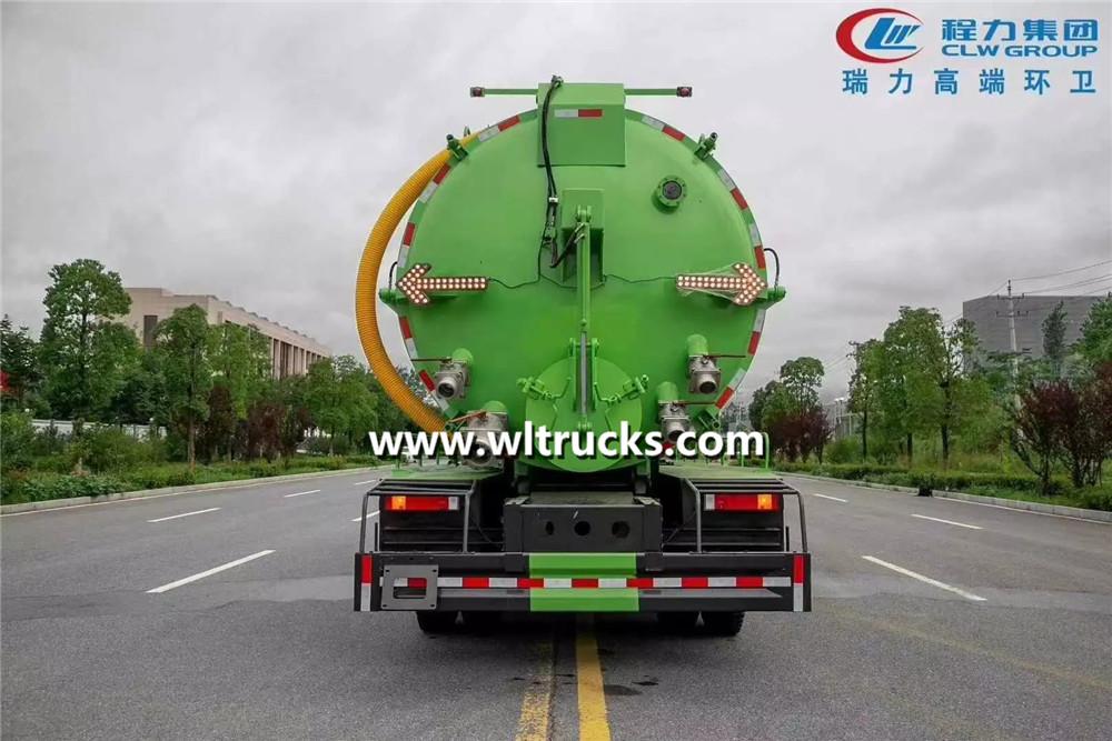 22m3 vacuum sewage suction truck