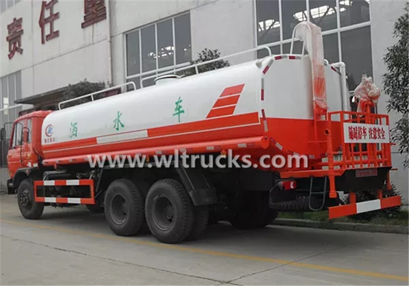 5000 gallon water tanker truck
