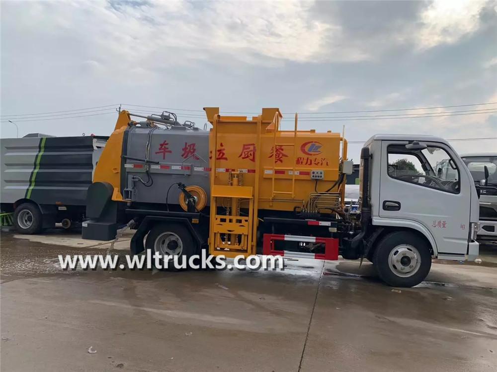 5m3 kitchen garbage truck