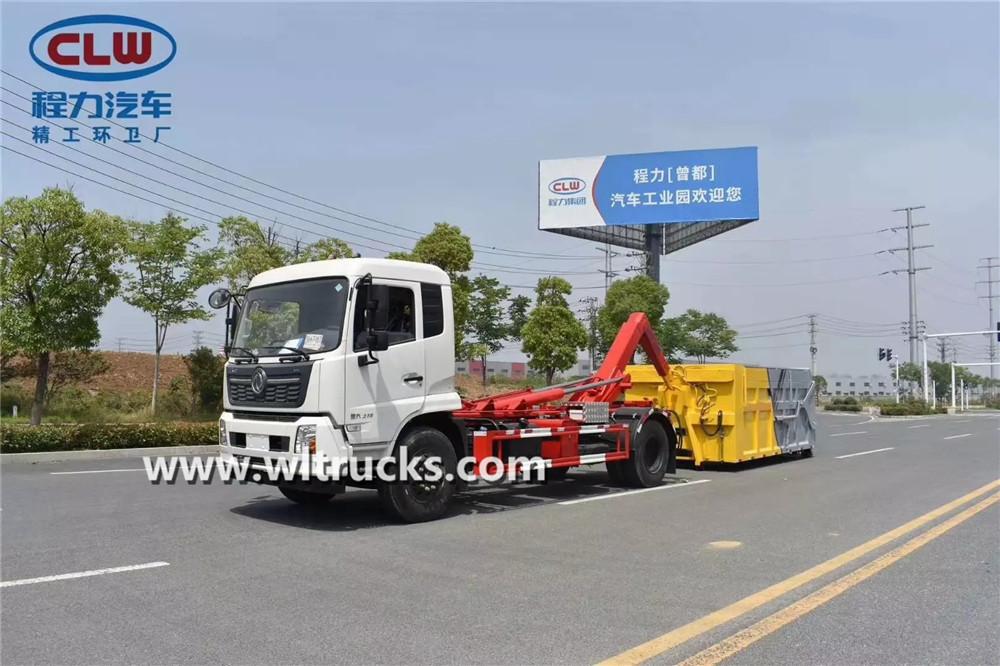 4x2-15m3-Hook-arm-garbage-truck