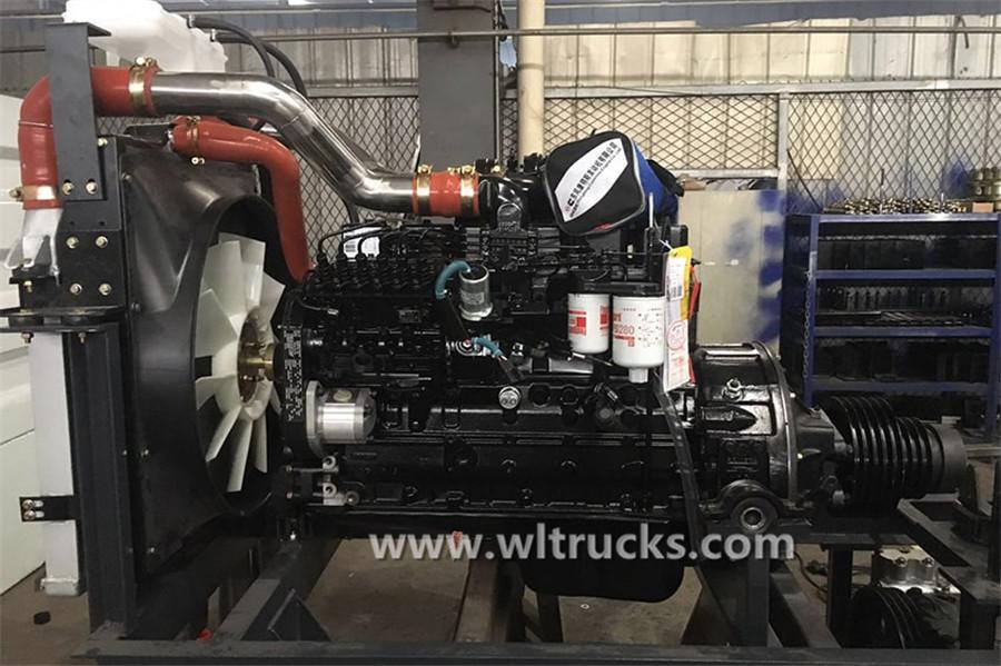 Cummins 140 horsepower auxiliary engine